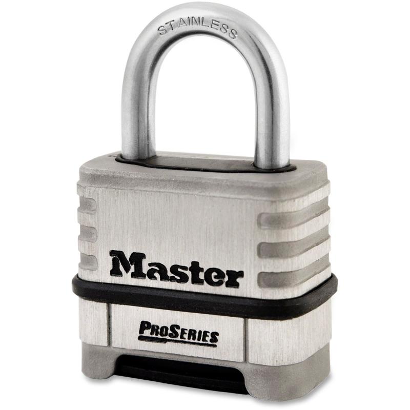 Master Lock Master Lock ProSeries Stainless Steel Combo Lock 1174D MLK1174D