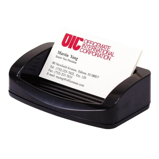 OIC 2200 Business Card/Clip Holder 22332 OIC22332