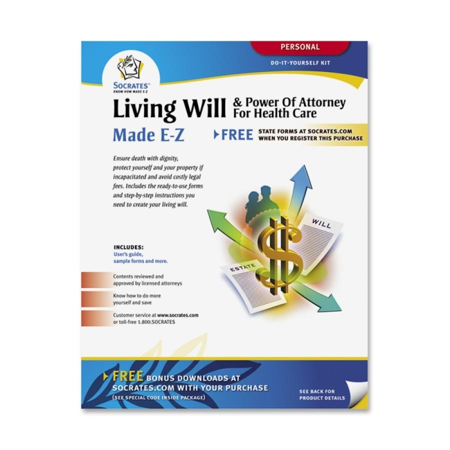 Adams Adams Living Will & Power of Attorney for Health Care Kit K306 ABFK306