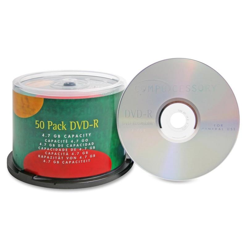 Compucessory 16x DVD-R Media 35557 CCS35557