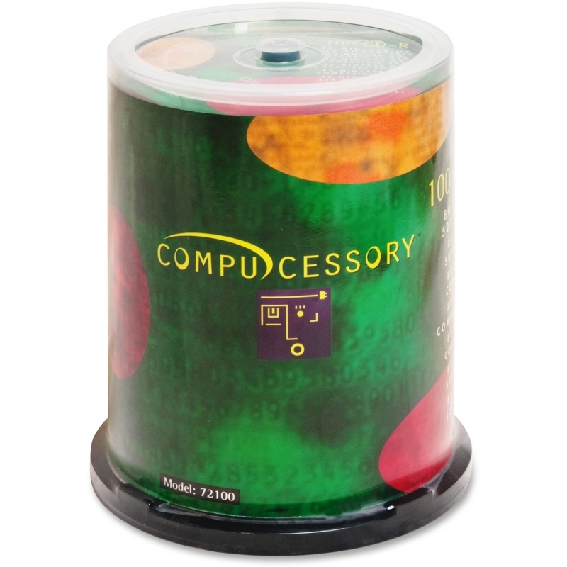 Compucessory 52x CD-R Media 72100 CCS72100