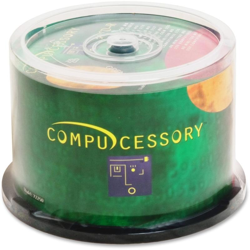 Compucessory 52x CD-R Media 72250 CCS72250
