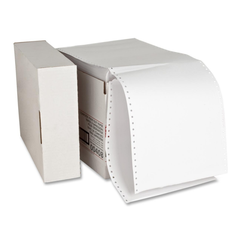 Sparco Perforated Plain Computer Paper 00408 SPR00408