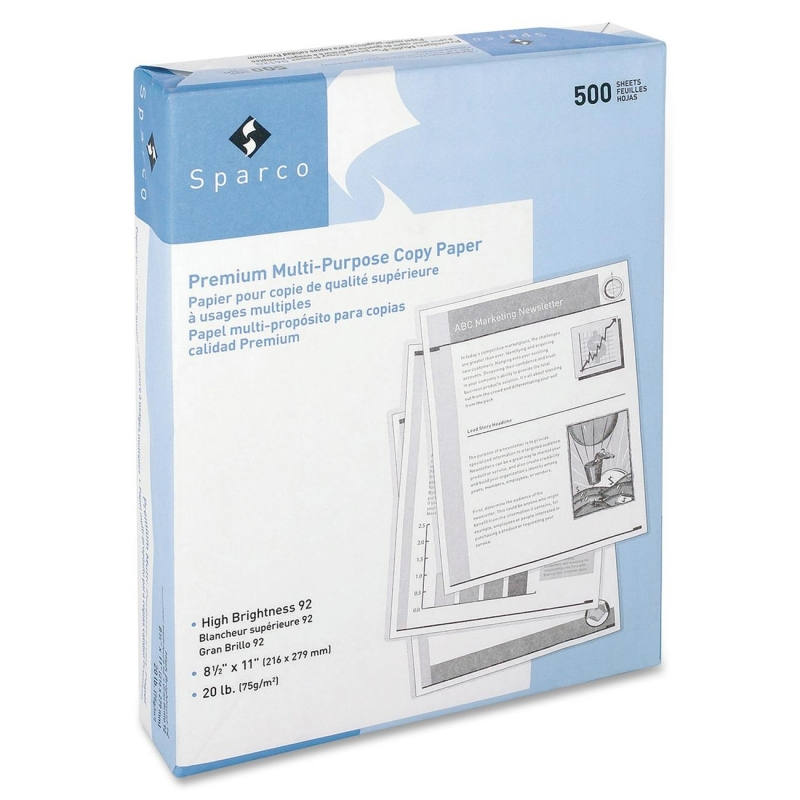 Sparco Punched Multipurpose Copy Paper 06121 SPR06121