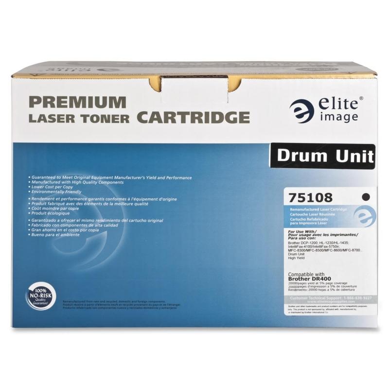 Elite Image Remanufactured Imaging Drum Alternative For Brother DR400 75108 ELI75108