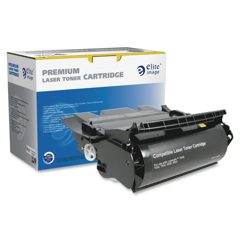 Elite Image Remanufactured High Yield Toner Cartridge Alternative For Lexmark T630 (12A7462) 75105 ELI75105
