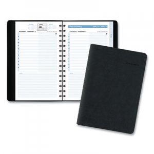 At-A-Glance The Action Planner Daily Appointment Book, 8 x 4 3/4, Black, 2020 AAG70EP0405 70-EP04-05