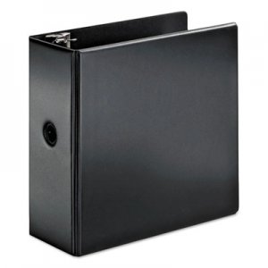 "Cardinal SuperStrength Locking Slant-D Ring Binder, 5"" Cap, 11 x 8 1/2, Black CRD11932 11932V3"
