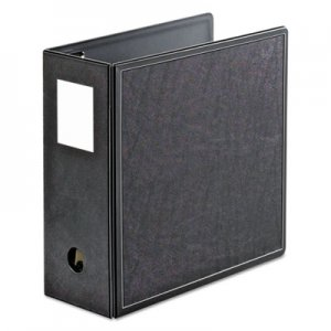 "Cardinal SuperLife Easy Open Locking Slant-D Ring Binder, 3 Rings, 5"" Capacity, 11 x 8.5, Black CRD14052 14052CB"