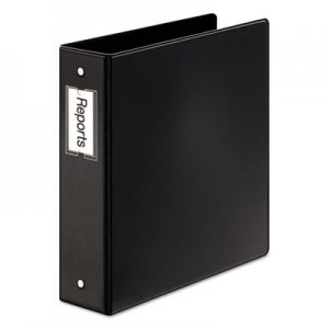 "Cardinal Premier Easy Open Locking Round Ring Binder, 3 Rings, 2"" Capacity, 11 x 8.5, Black CRD18832 18832CB"