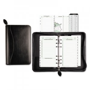 Day-Timer Recycled Bonded Leather Starter Set, 3 3/4 x 6 3/4, White DTM41746 41746