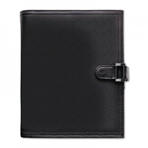 Day-Timer Soft Flex Leatherlike Starter Set, 8 1/2 x 5 1/2, Black DTM44315 44315