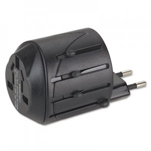 Kensington International Travel Plug Adapter for Notebook PC/Cell Phone, 110V KMW33117 K33117