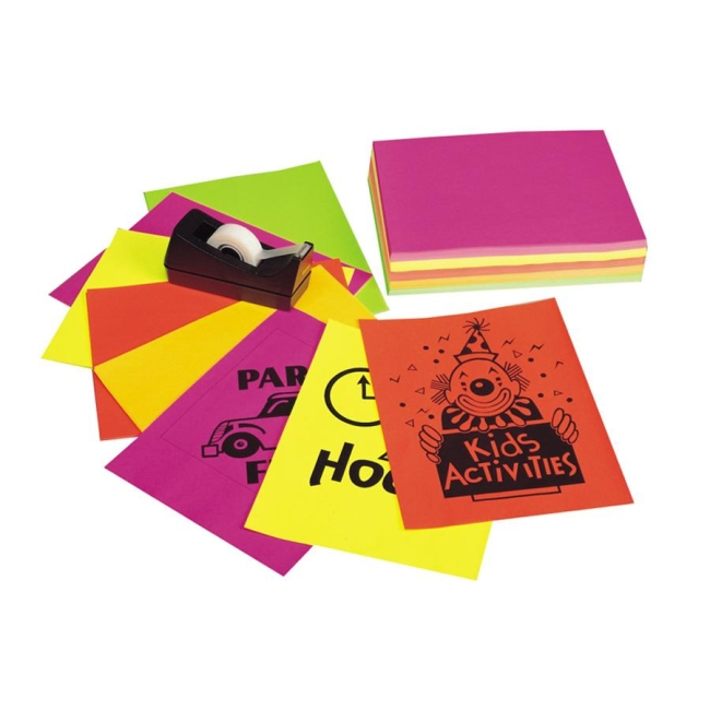 Pacon Neon Bond Paper 132966 PAC132966