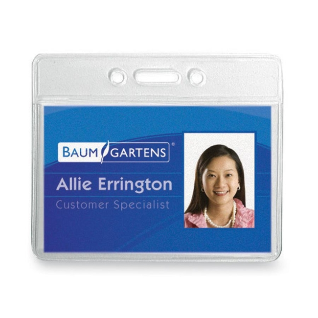 Baumgartens ID Badge Holder 67810 BAU67810