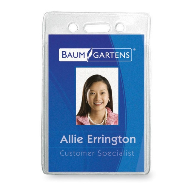 Baumgartens ID Badge Holder 67820 BAU67820