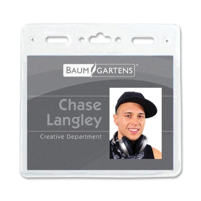 Baumgartens ID Badge Holder 67830 BAU67830