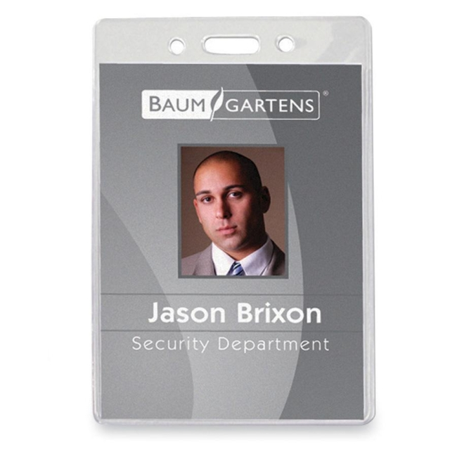 Baumgartens ID Badge Holder 67880 BAU67880
