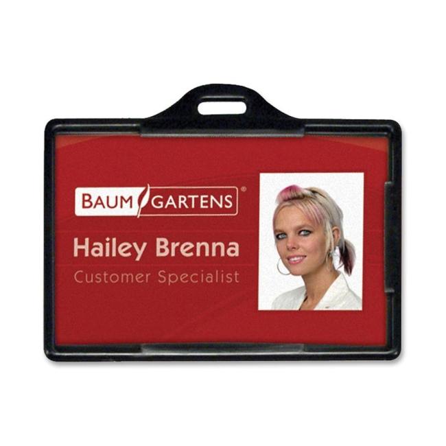 Baumgartens Horizontal ID Card Holder 68310 BAU68310