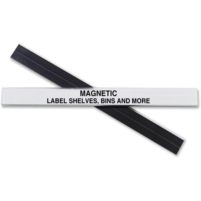 C-Line HOL-DEX Magnetic Shelf/Bin Label Holders 87207 CLI87207