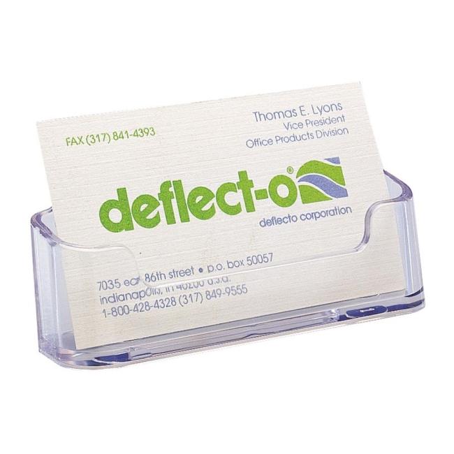Deflect-o Desktop Business Card Holder 70501 DEF70501