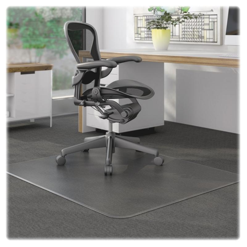 Lorell Rectangular Low Pile Chair Mat 69160 LLR69160
