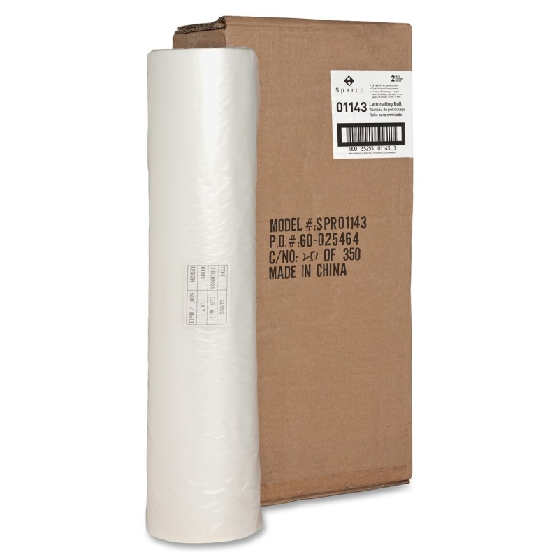 """Sparco 1"""" Core Laminating Roll 01143 SPR01143"""