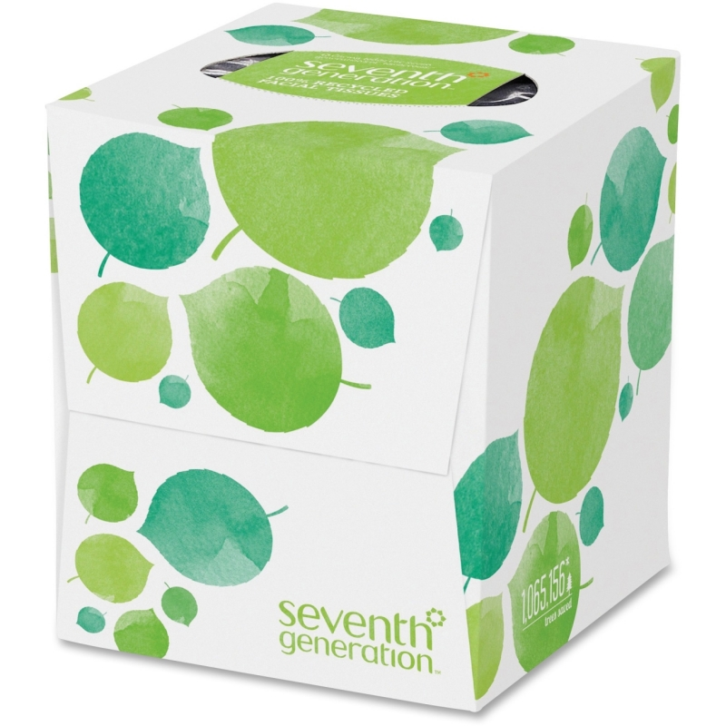 Seventh Generation 100% Recycled Facial Tissues 13719 SEV13719 36FT85