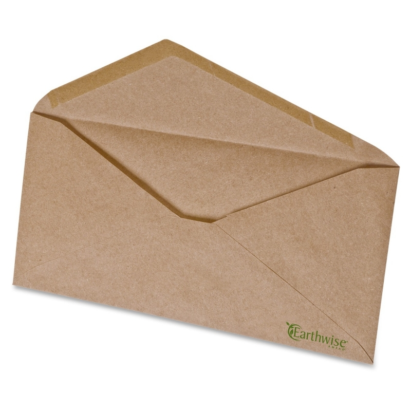 Ampad Earthwise No. 10 Brown Kraft Envelopes 19702 PFX19702