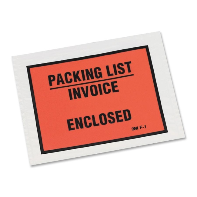 3M Packing List/Invoice Enclosed Envelope F1-1000 MMMF11000 F11000