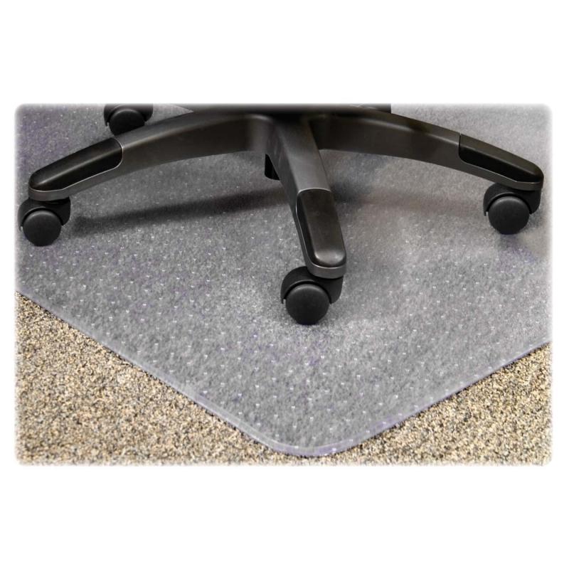 Lorell PlushMat Chair Mat 25754 LLR25754