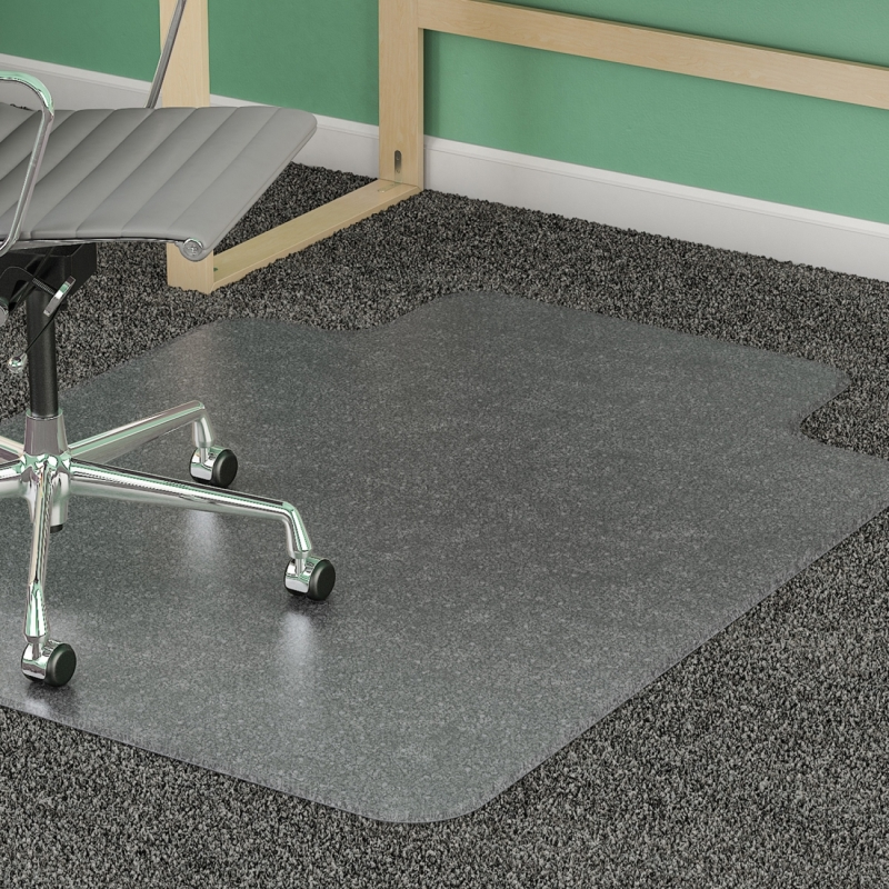 Lorell Diamond Anti-static Chair Mat 25751 LLR25751