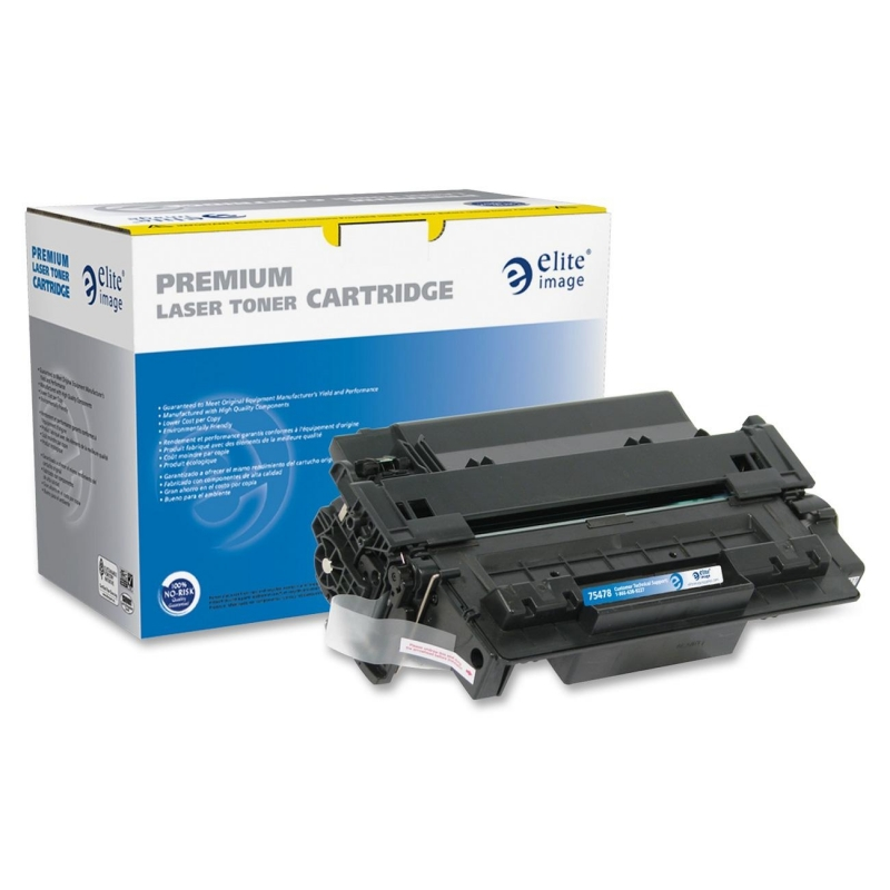 Elite Image Remanufactured Toner Cartridge Alternative For HP 55A (CE255A) 75478 ELI75478