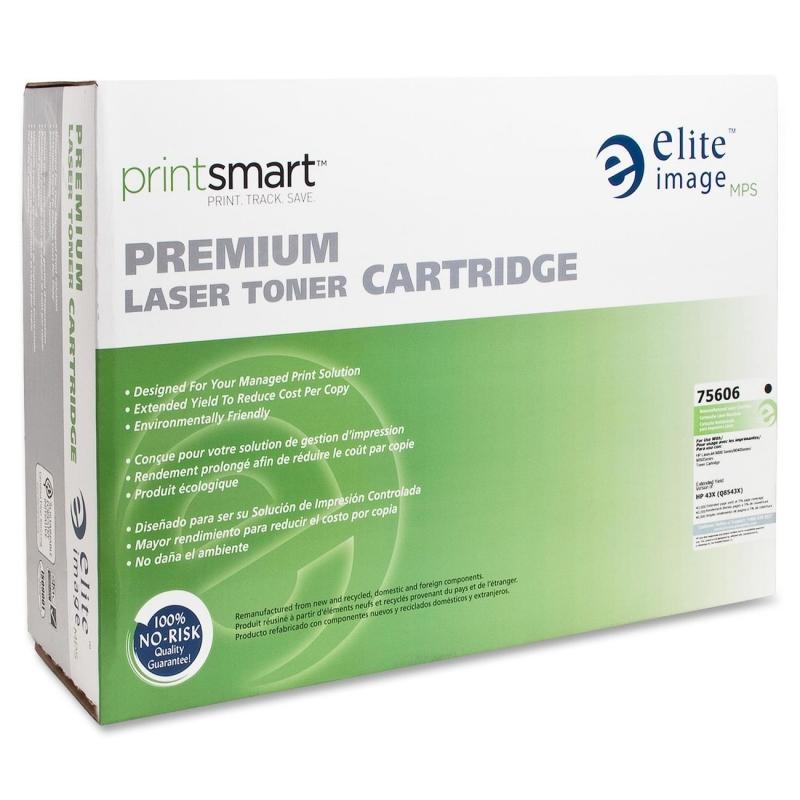 Elite Image Remanufactured Toner Cartridge Alternative For HP 43X (C8543X) 75606 ELI75606