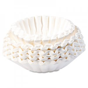 BUNN Flat Bottom Coffee Filters, Paper, 12-Cup Size BUNBCF250CT 20132.0000