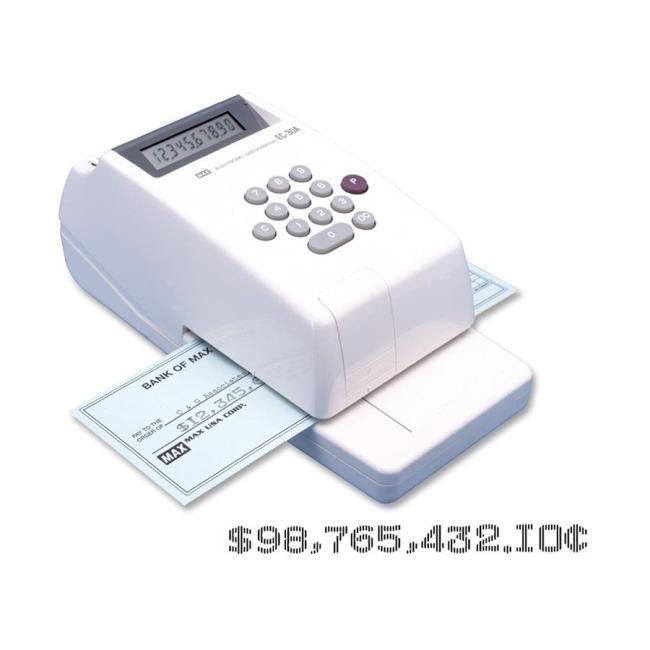 MAX MAX Electronic Checkwriter EC-30A MXBEC30A