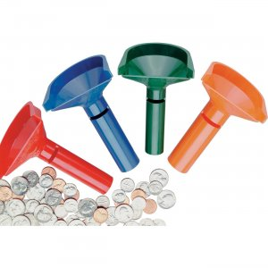 MMF Color-keyed Coin Counting Tube Set 224000400 MMF224000400