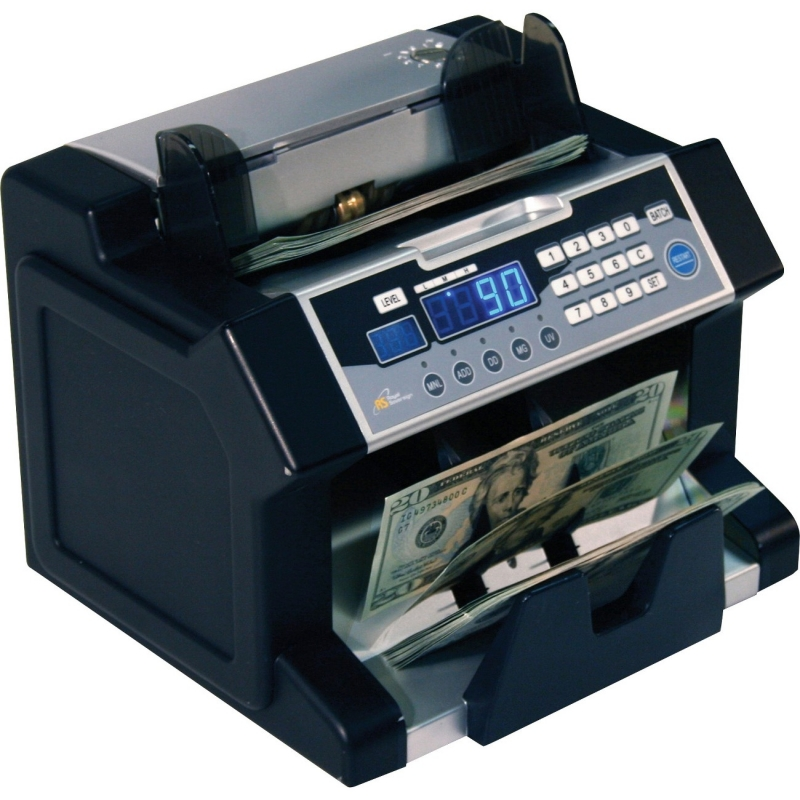 Royal Sovereign Royal Sovereign Electric Bill Counter w/ UV, MG, IR Counterfeit Detection RBC-3100 RSIRBC3100