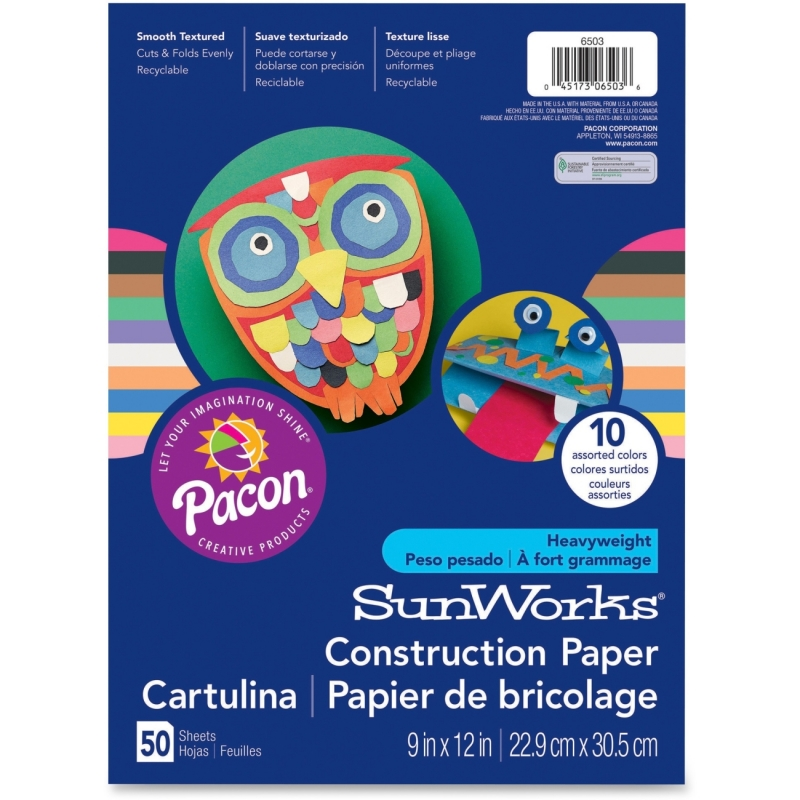 Pacon Pacon SunWorks Construction Paper 7403 PAC7403