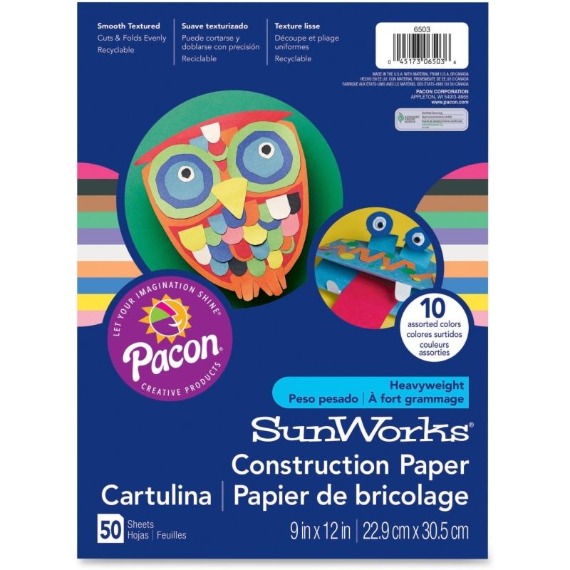 SunWorks SunWorks Groundwood Construction Paper 6903 PAC6903