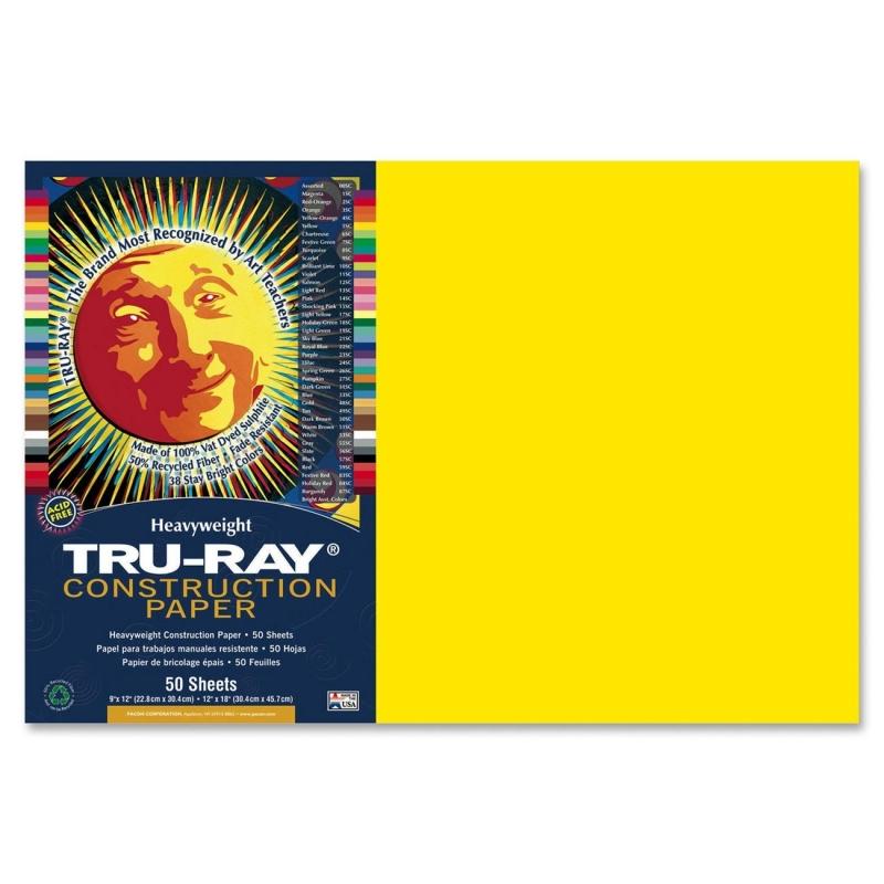 Tru-Ray Tru-Ray Construction Paper 103036 PAC103036