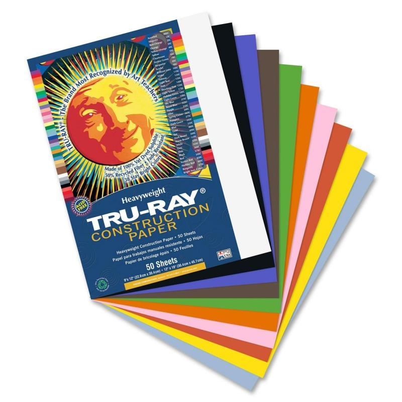 Tru-Ray Tru-Ray Construction Paper 103031 PAC103031