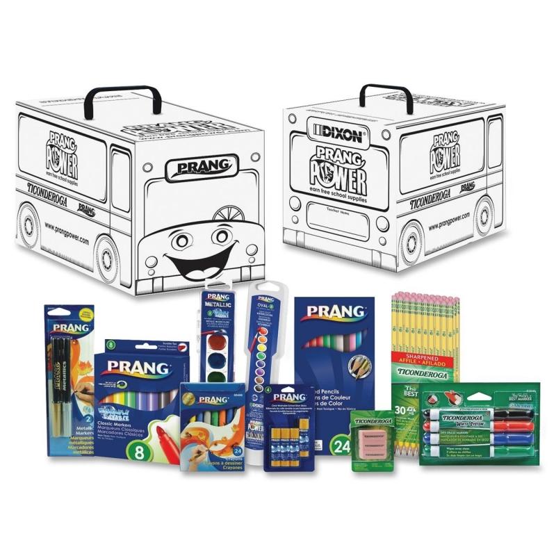 Prang Prang Power Classroom Art Supply Kit 43107 DIX43107