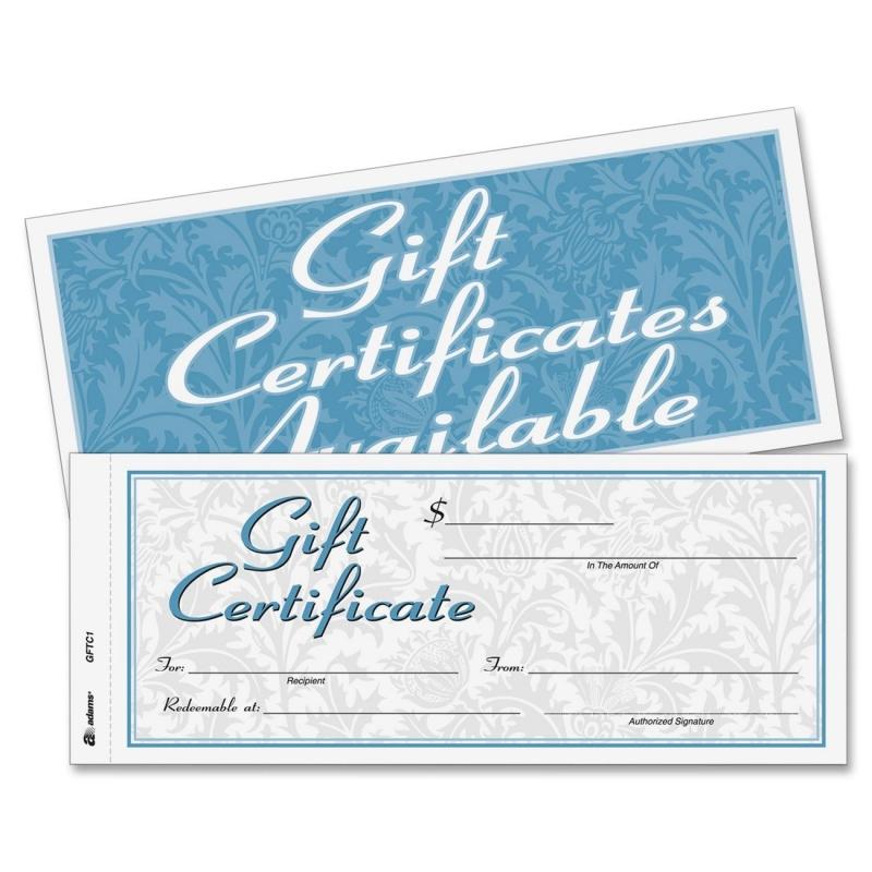 Cardinal Cardinal Gift Certificate GFTC1 ABFGFTC1