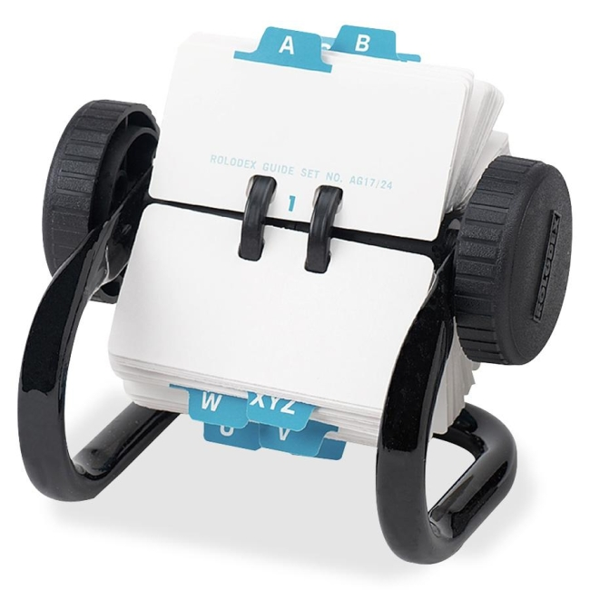 Rolodex Rolodex Mini Classic 250 Card Rotary File 66700 ROL66700