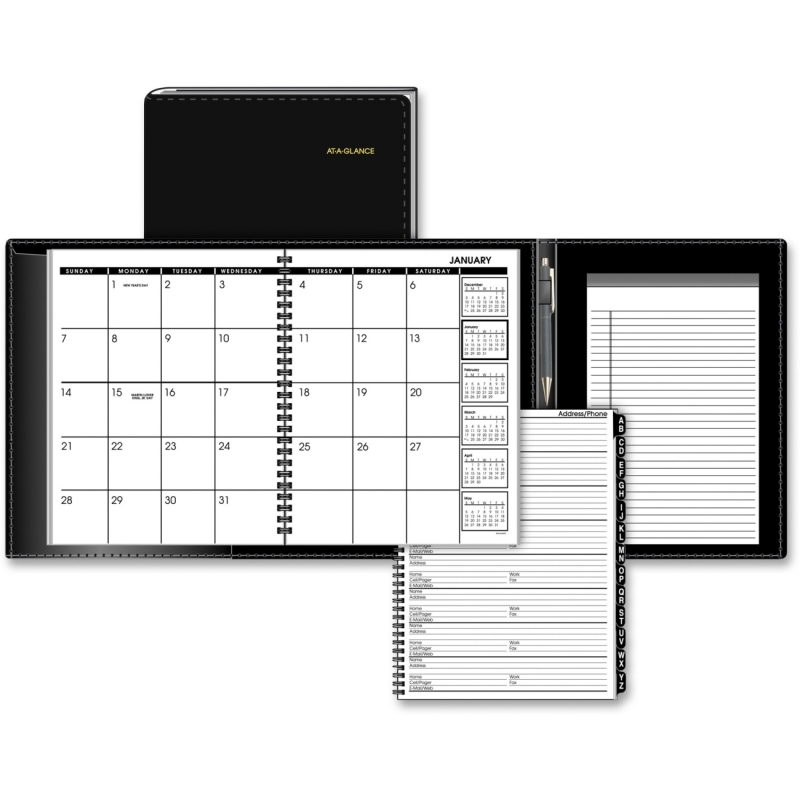 At-A-Glance At-A-Glance Monthly Appointment Book Plus 70-120P-05 AAG70120P05