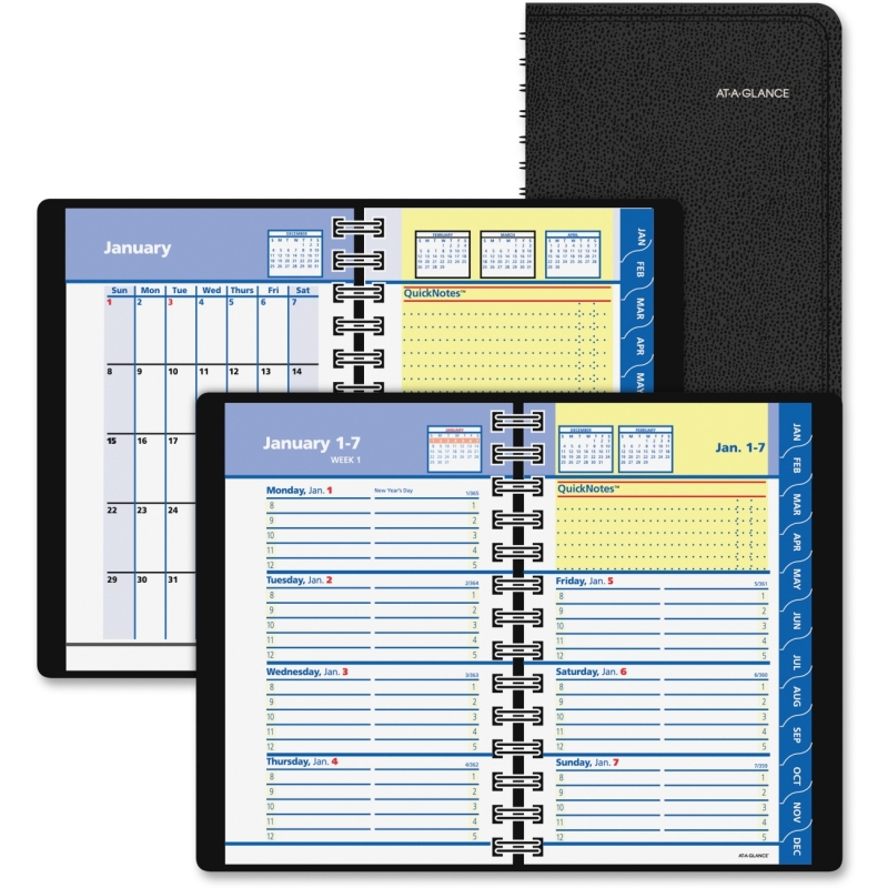 At-A-Glance At-A-Glance QuickNotes Self-Management System Planner 76-03-05 AAG760305