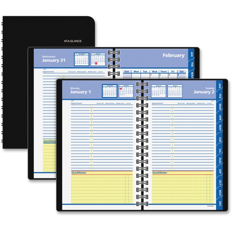 At-A-Glance At-A-Glance Daily and Monthly Self Management Planner 76-04-05 AAG760405
