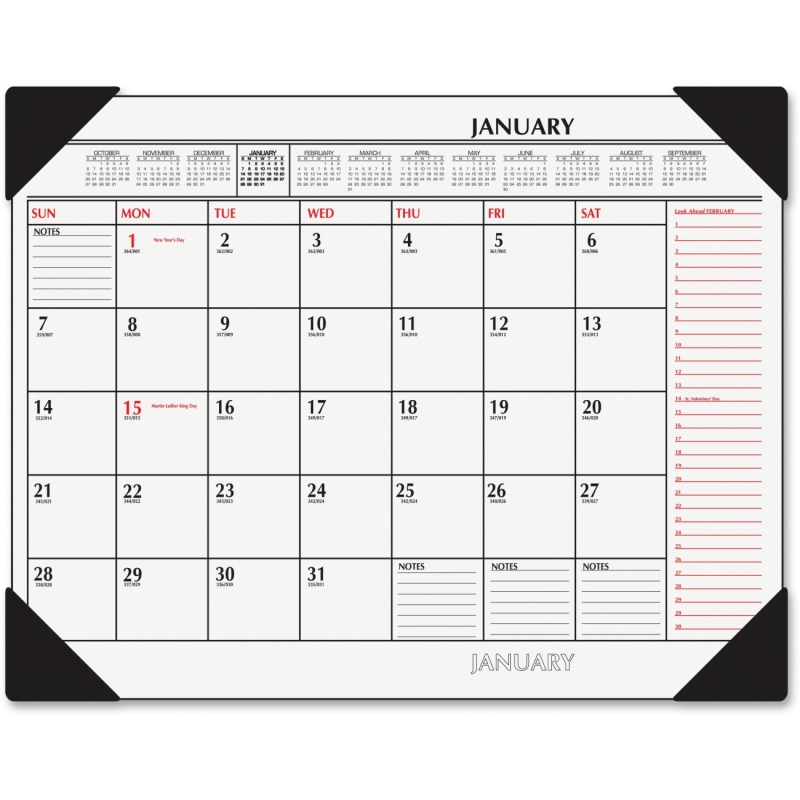 At-A-Glance At-A-Glance 2-Color Desk Pad Calendar SK1170-00 AAGSK117000