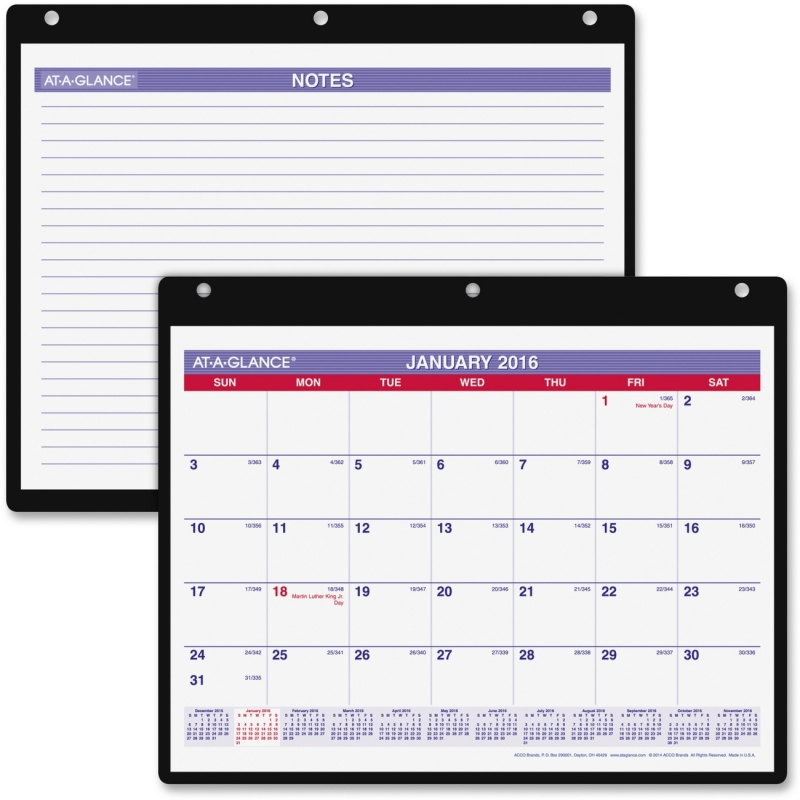 At-A-Glance At-A-Glance Monthly Desk and Wall Calendar SK8-00 AAGSK800